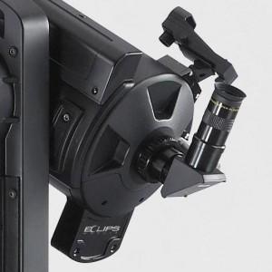 Okularanschluss, Sucher mit LNT-Modul und Eclipse Kamera im Detail