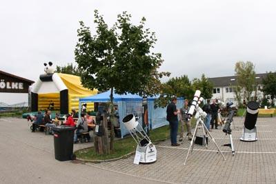 Teleskop Ausstellung