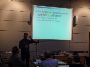 Heinrich Kuypers erklärt den Star Analyser