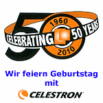Celestron wird 50.