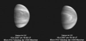 Venus im UV