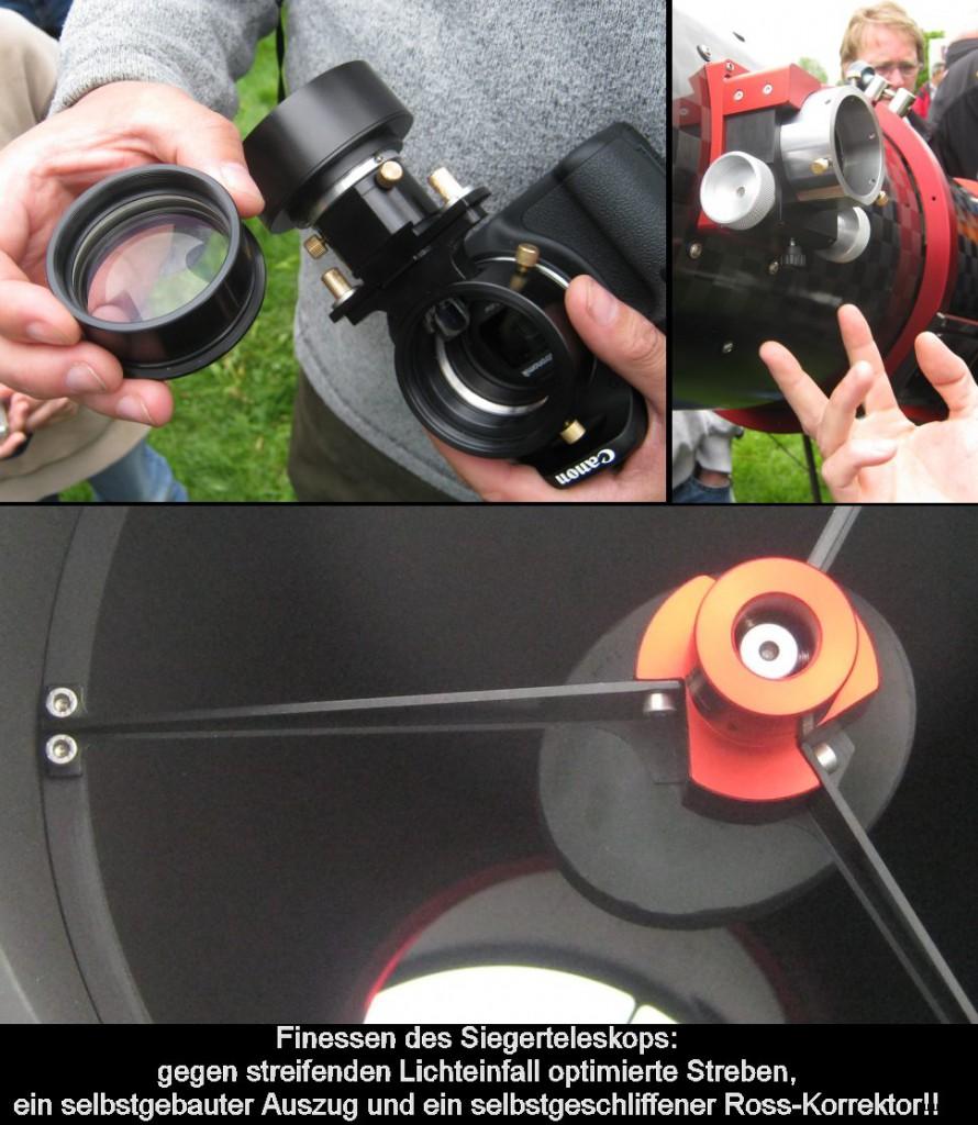 Das ausgezeichnete Teleskop