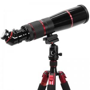 Photoscope mit Amici-Prisma auf einem Fotostativ