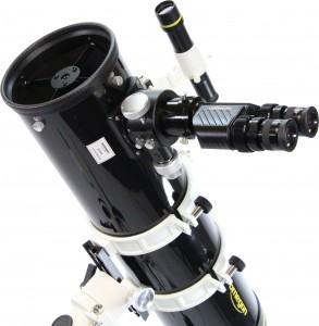 Omegon Binokular am Newtonteleskop