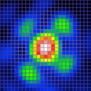 Radiobild Sonne