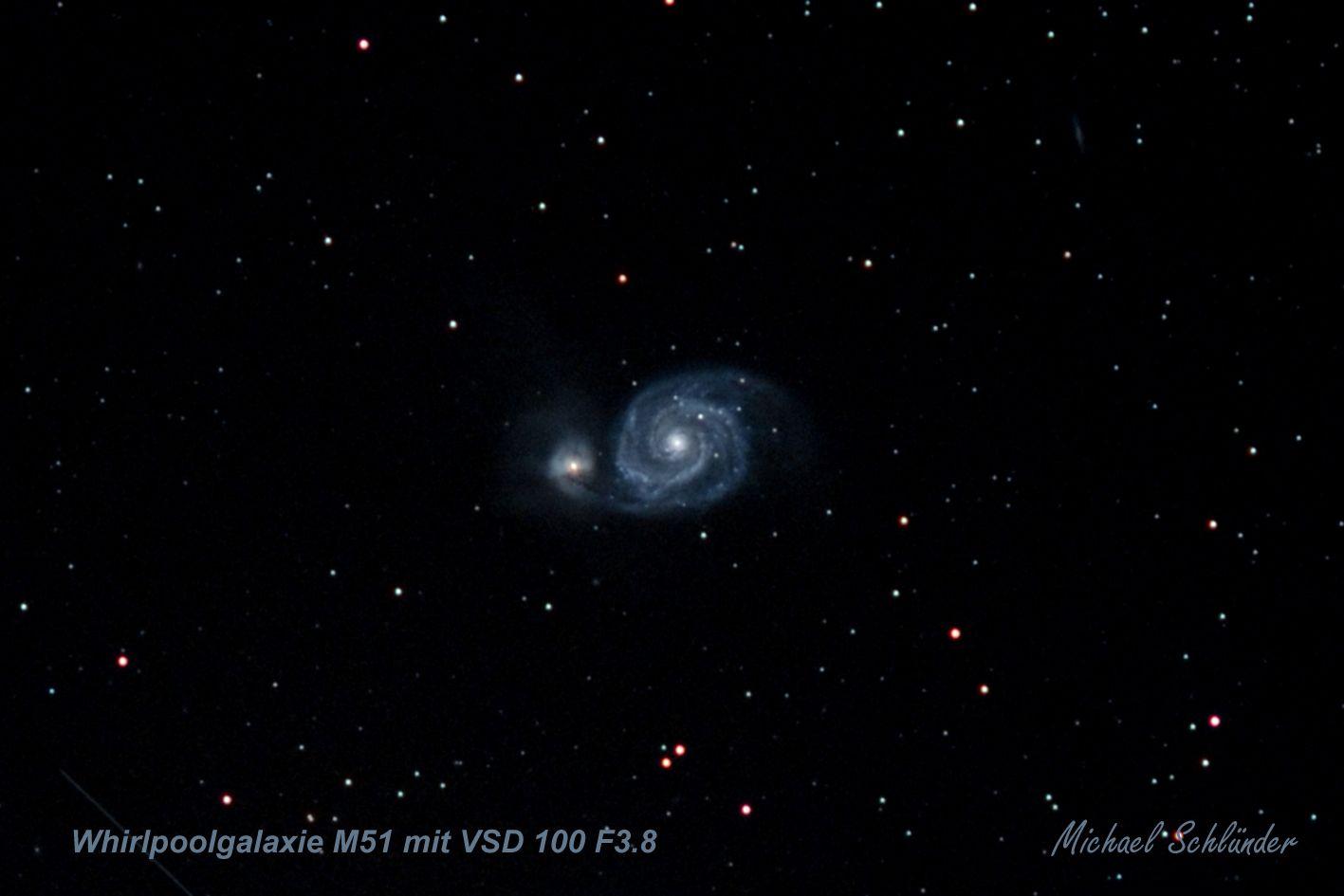 Die Strudel- oder auch Whirlpool-Galaxie