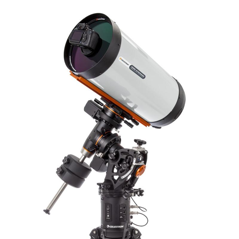 Der neue Celestron Astrograph mit DSLR auf der CGE-Pro-Montierung