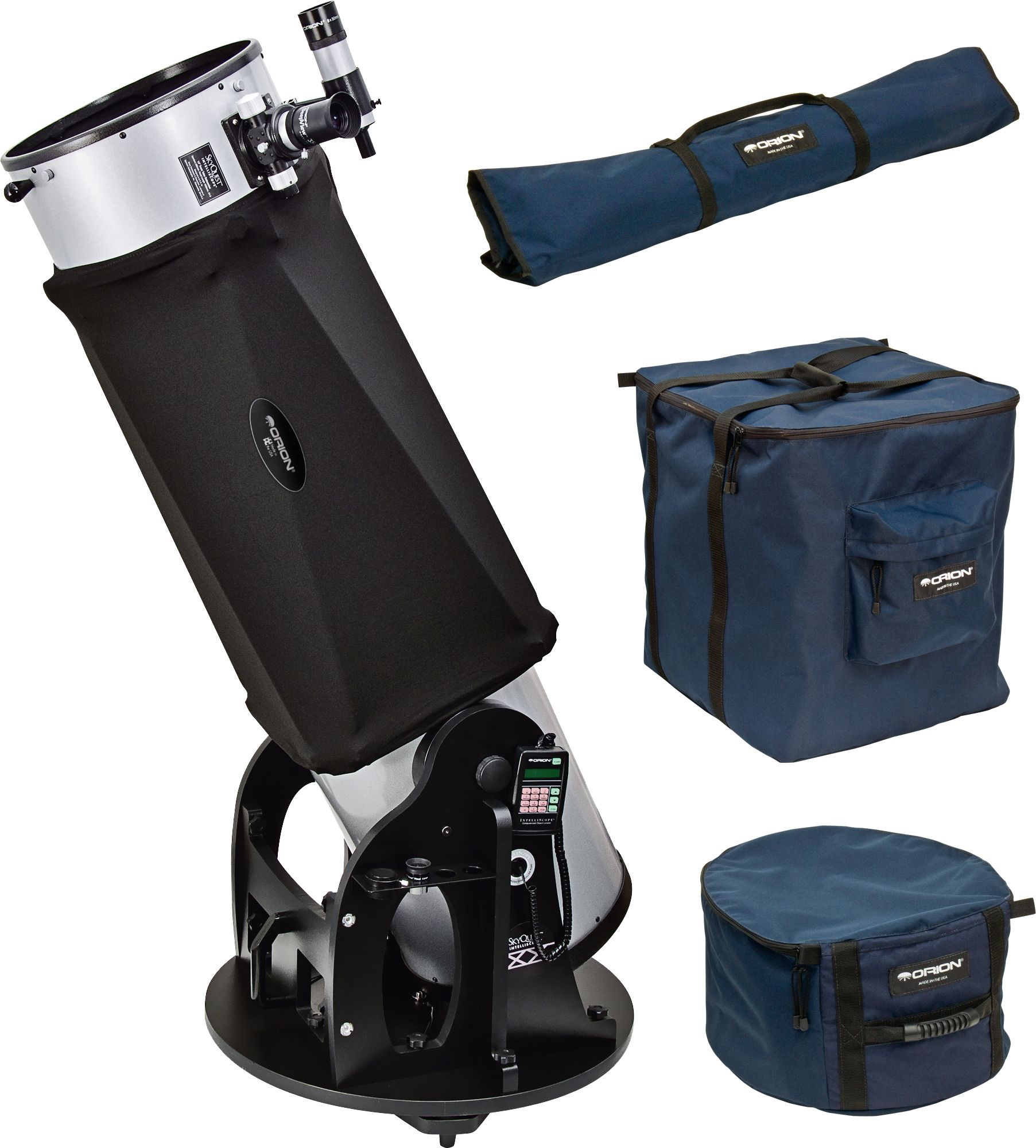 Orion-Dobson mit Transporttaschen