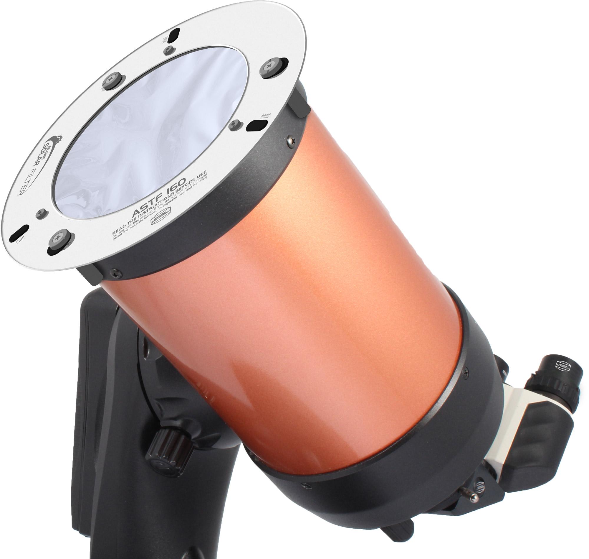 Teleskop mit Sonnenfilter der ASTF-Serie
