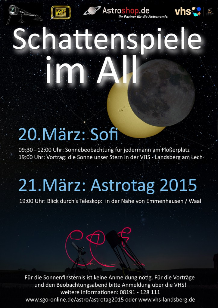 Sonnenfinsternis in Landsberg