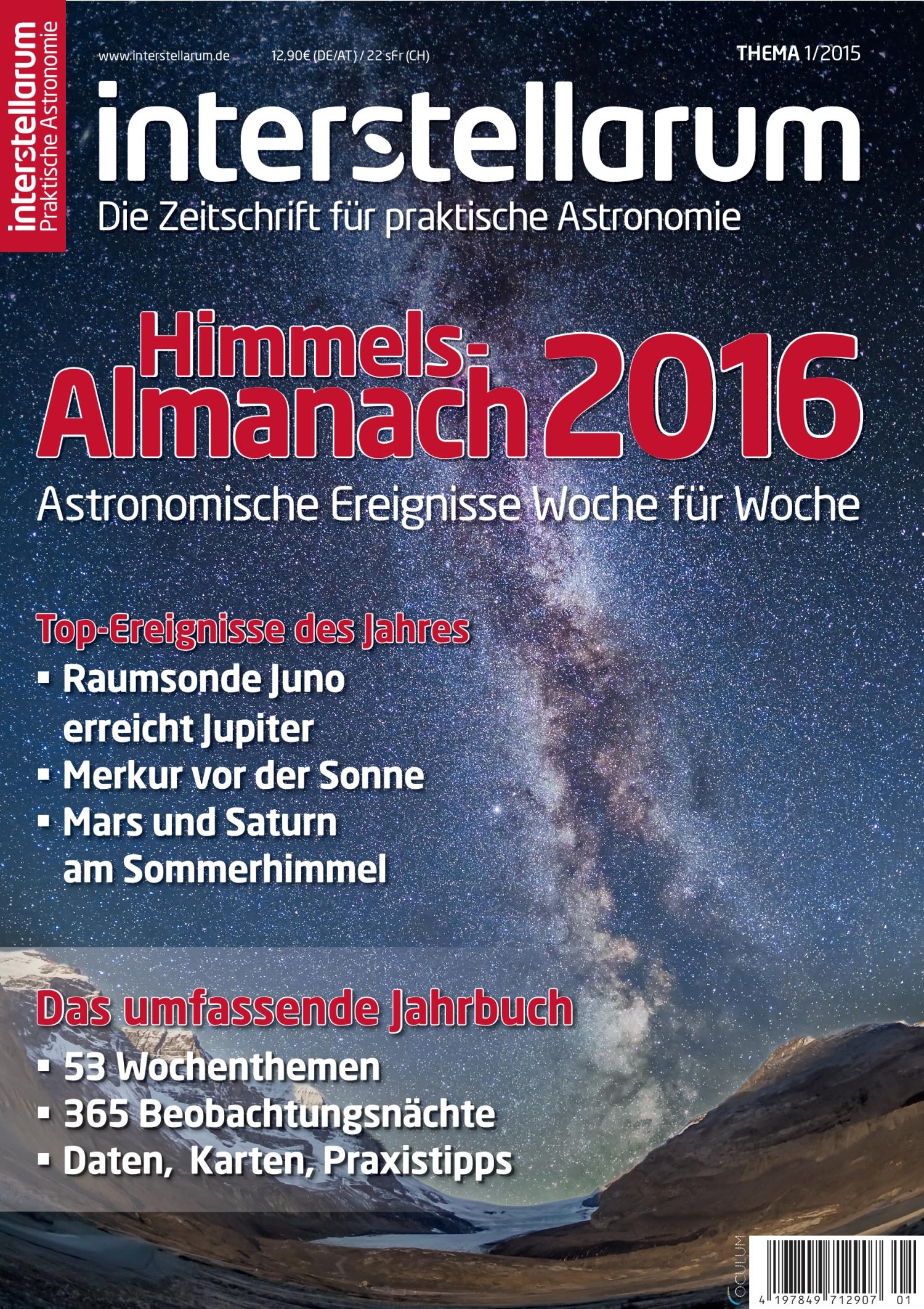 Himmels-Almanach 2016