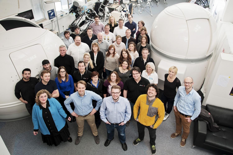 Das Astroshop-Team