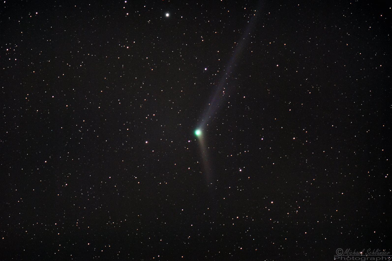 Komet C/2103 US10 Catalina aufgenommen am 08.12.2015