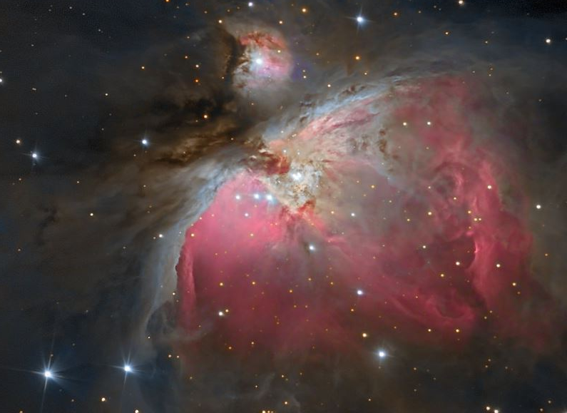 Der Orionnebel M42