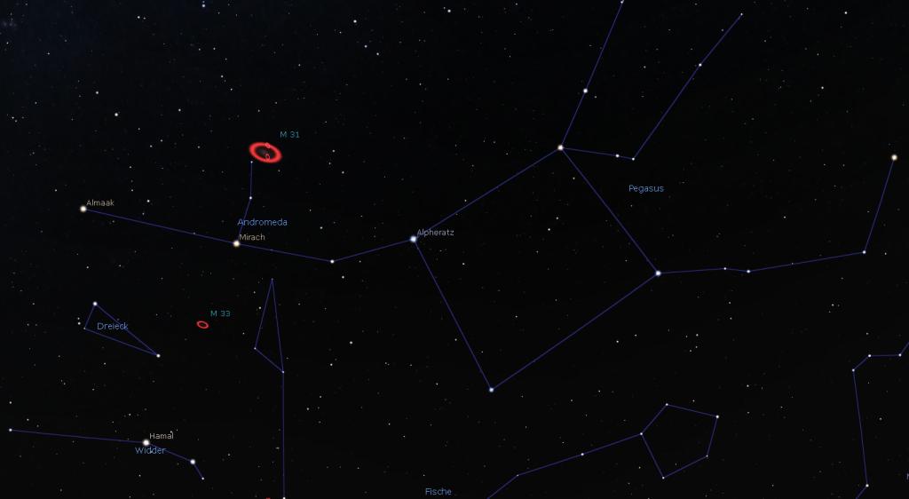 Der Weg zu Andromeda