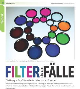Gratis: Der Testbericht Filter für alle Fälle