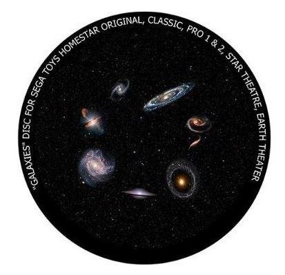 Galaxien-Dia