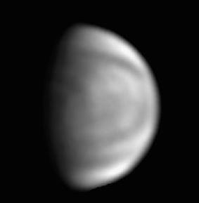 Venus im UV-Licht